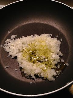 Alubias blancas on chorizo, preparación 3