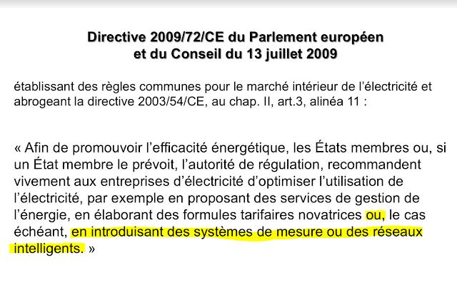 Directive européenne