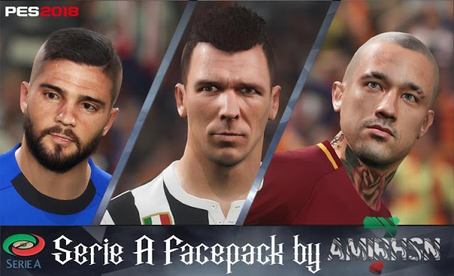 Serie A Mini Facepack PES 2018