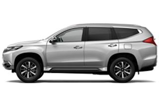 Mitsubishi Pajero Warna Sterling Silver Metallic 2019