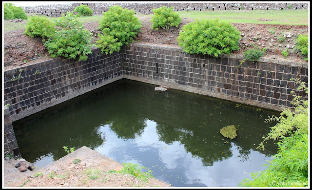 Water Trench on Malhargad Fort