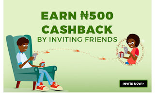 Jumia one apk,  how to get N500 on invite Friends
