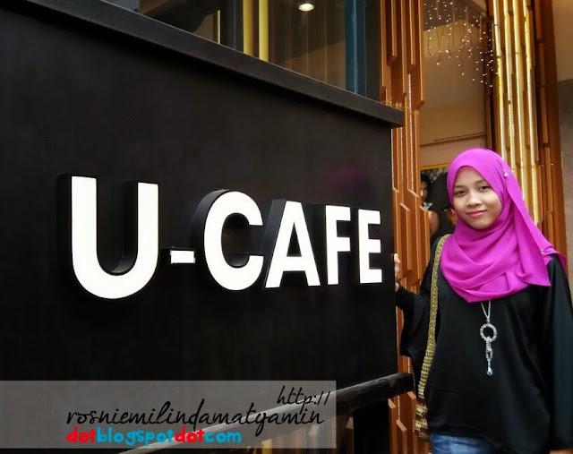 U-Cafe Wangsa Walk, pelbagai hidangan memikat selera.