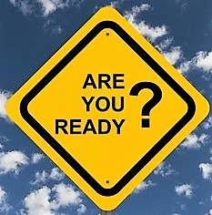 Are you Ready? warning sign