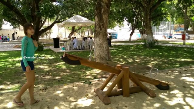 Inauguração de mais um módulo do Parque Santos Dumont