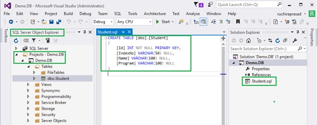 Visual studio database project and dacpac deployment tips and these objects will create without a proper structure to maintain a proper structure you need to create proper folder structure in your project and add ccuart Gallery