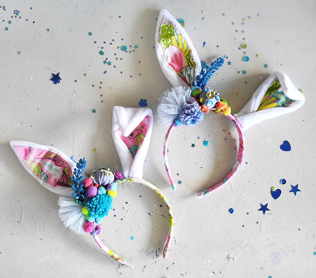 easter craft, bunny ears, cute craft