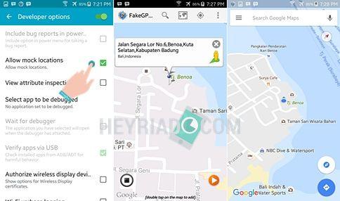 Cara Membuat Lokasi Palsu GPS Android