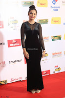 Vennela in Transparent Black Skin Tight Backless Stunning Dress at Mirchi Music Awards South 2017 ~  Exclusive Celebrities Galleries 099.JPG