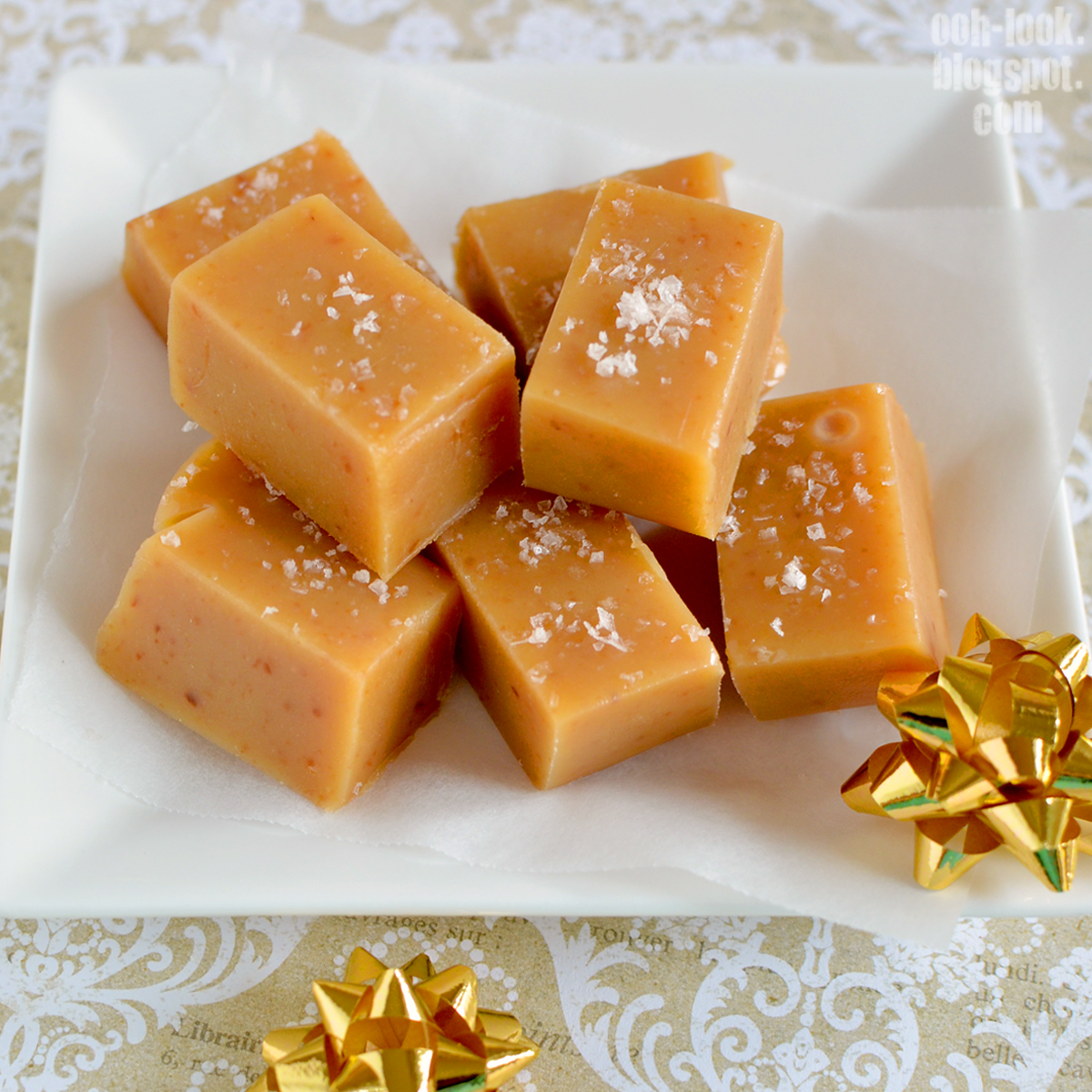 Salted Caramel Fudge Or Sugar Sugar