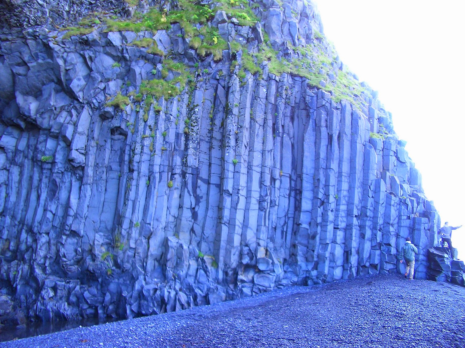Formación de basalto, Islandia