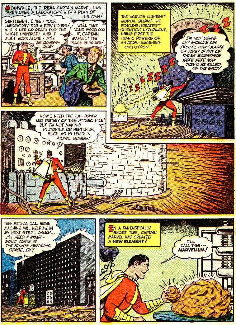 The worlds mightiest mortal june 2017 not only does captain marvel create a new element he even takes the time to update the periodic table of elements i think its pretty funny that he urtaz Image collections