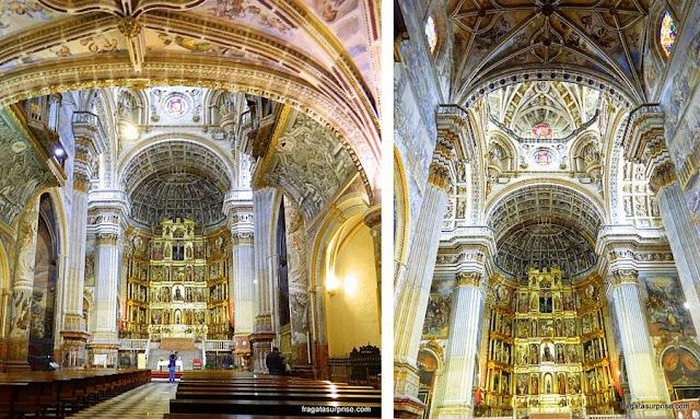 Igreja do Mosteiro de San Jerónimo, em Granada