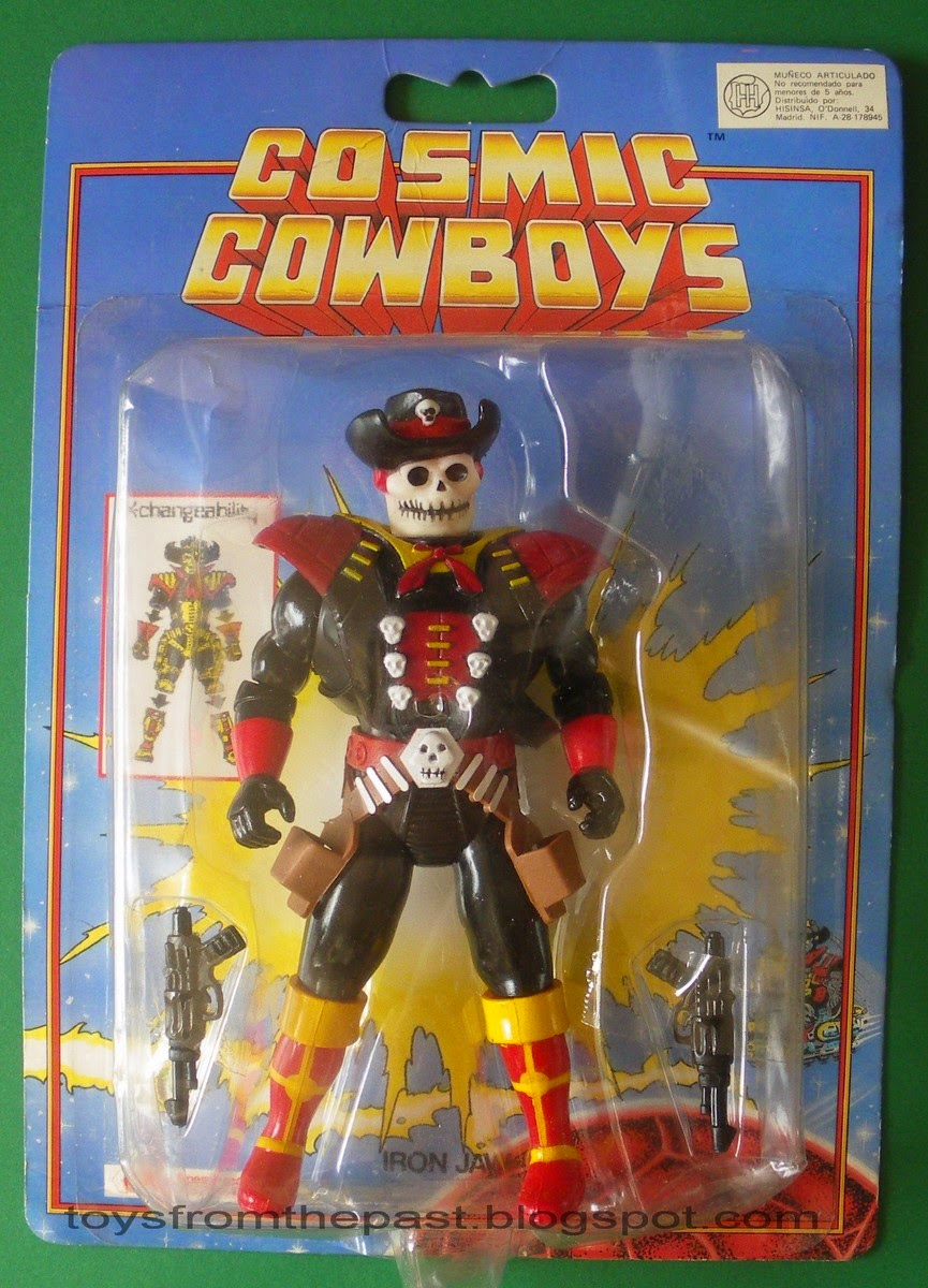 Toys From The Past 490 Cosmic Cowboys Star Marshall