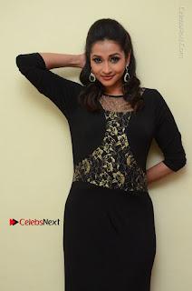 Telugu Actress Manasa Manohar Stills in Black Long Dress at Naku Nene Thopu Turumu Trailer Launch  0046.JPG
