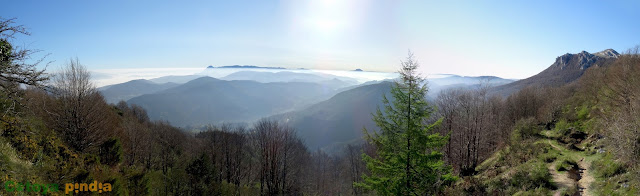 Ruta circular al pico Aitxuri o Aitzgurri, techo de Guipúzcoa en el País Vasco