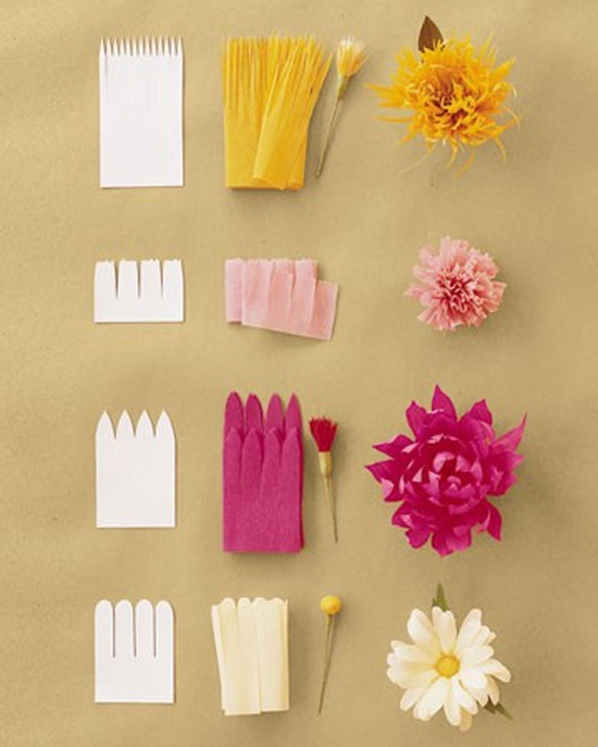 Paper Craft Decoration Home: DIY: 12 Easy Paper Flowers To Try At Home