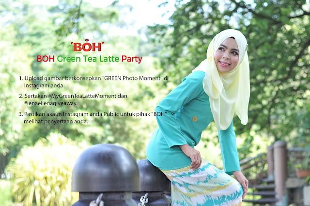 Menangi Jemputan ke Majlis BOH Green Tea Latte Party