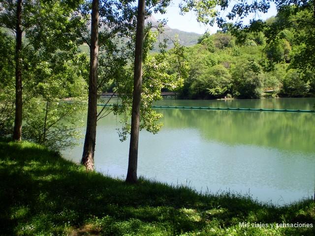 embalse de Valdemurio, la senda del oso, Asturias