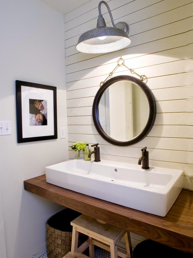 A Collection Of Cute Bathroom Decorating Ideas - Modern ... on Farmhouse Bathroom Ideas  id=68996