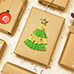 How to Decorate Christmas Gifts DIY and Paper Crafts