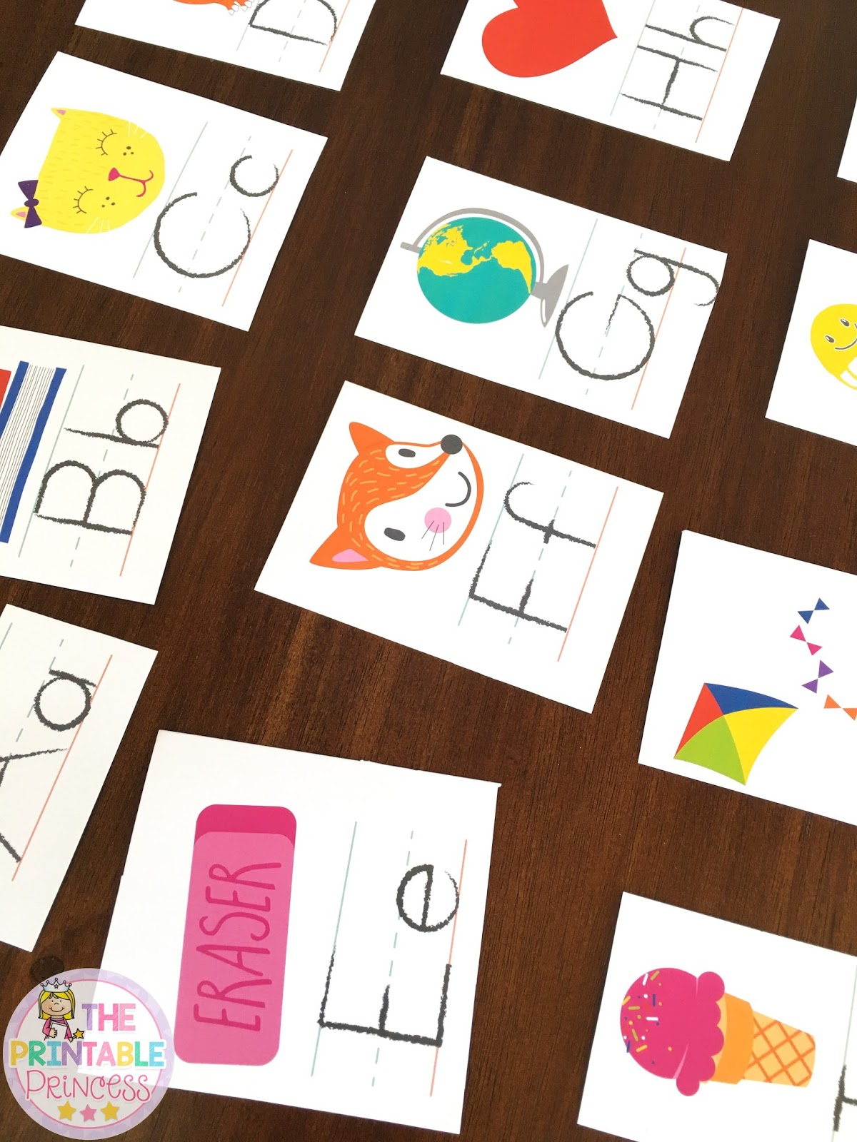 The Printable Princess Alphabet Activities For