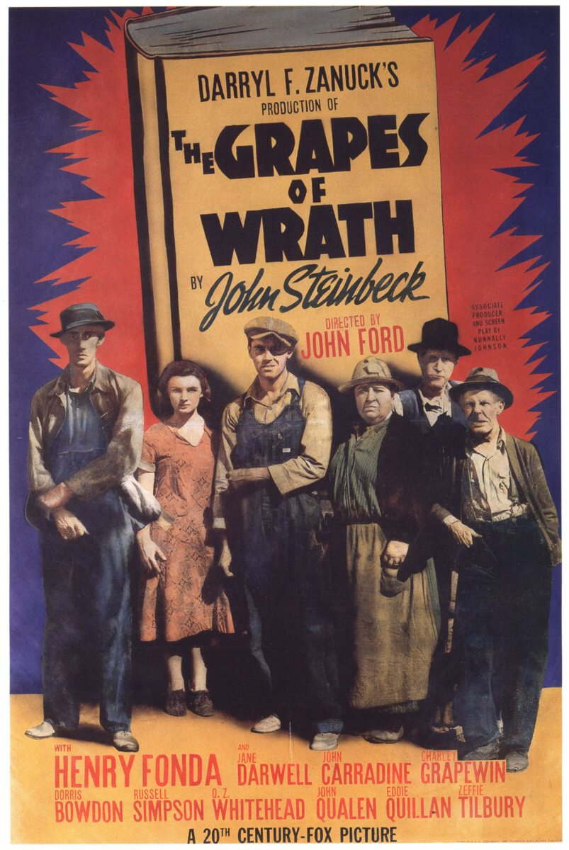 Essay/Term paper: Grapes of wrath:dustbowl disaster