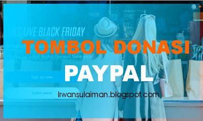 Tombol Donasi Paypal