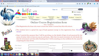 online course registration