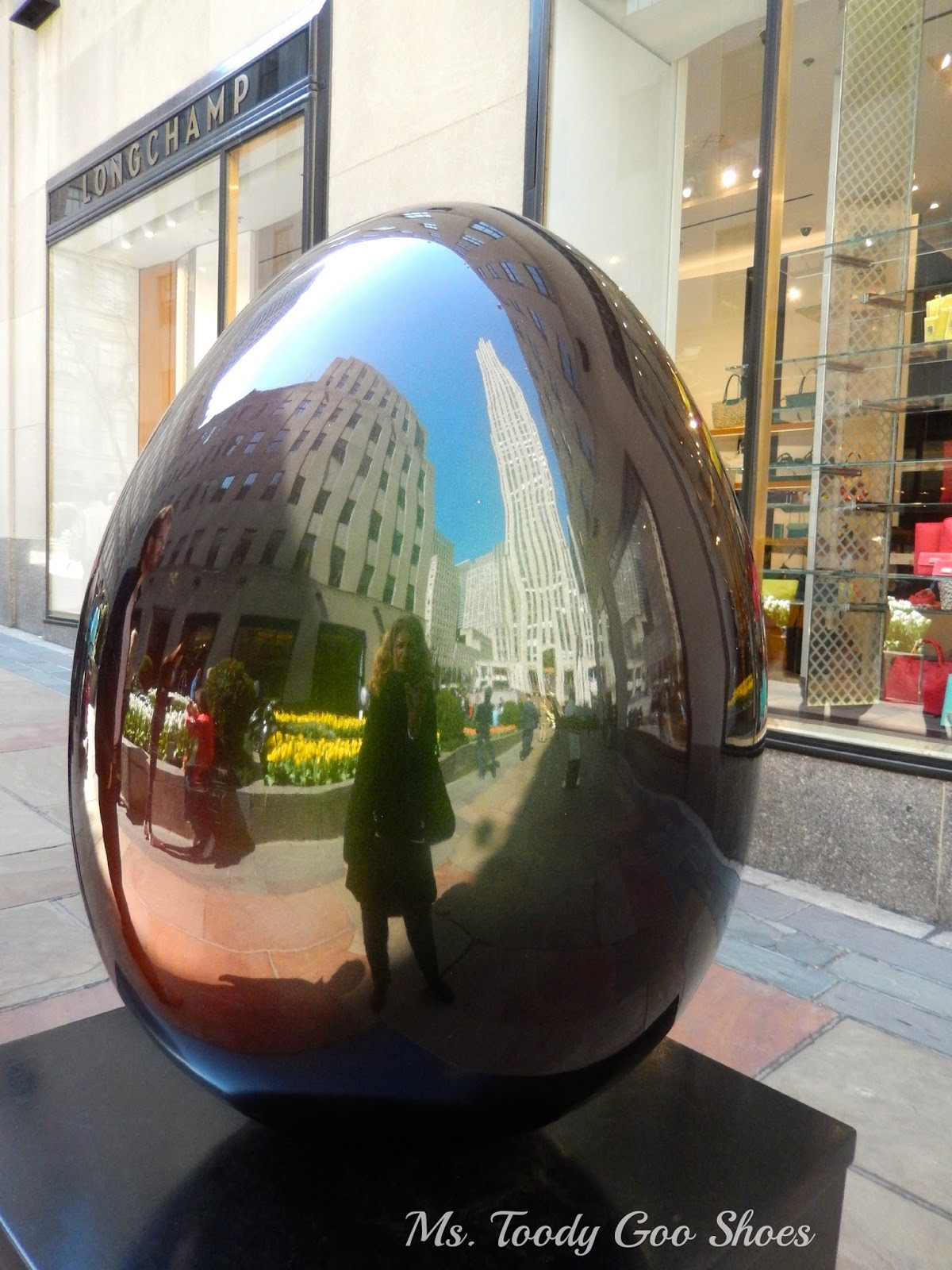 "Faberge ""Big Egg Hunt""  NYC --- Ms. Toody Goo Shoes"