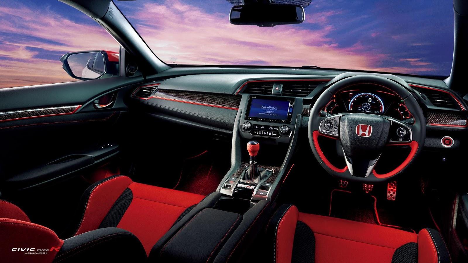 Jdm Honda Civic Type R Accessories Make It Even Wilder