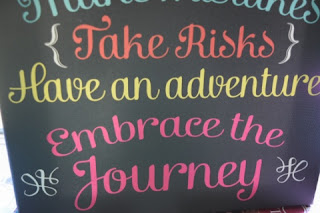 embrace the journey print closeup 2