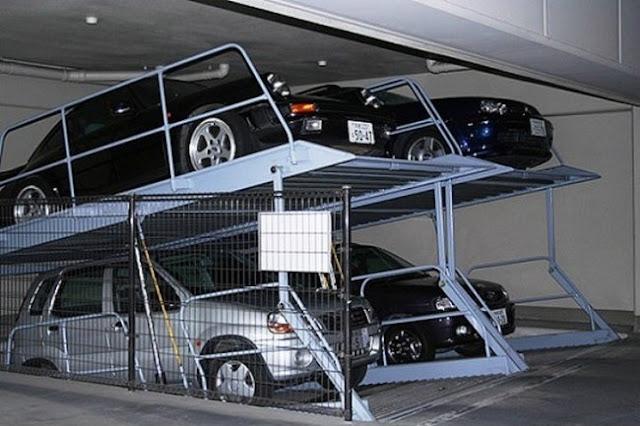Estacionamentos móveis