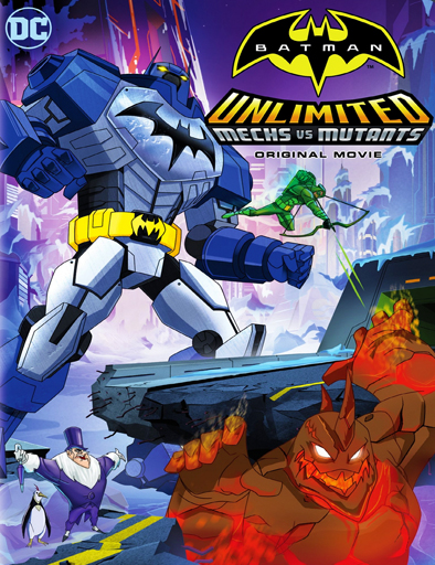 Ver Batman Unlimited: Mech vs. Mutants (2016) Online