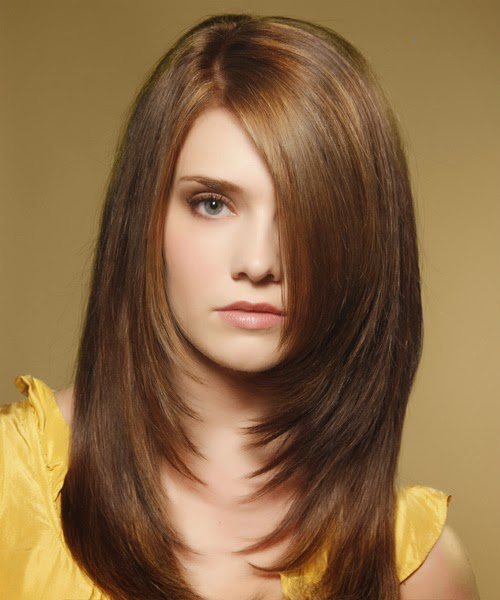 Shoulder Length Hairstyles For Round Faces | Hair Color Ideas and ...