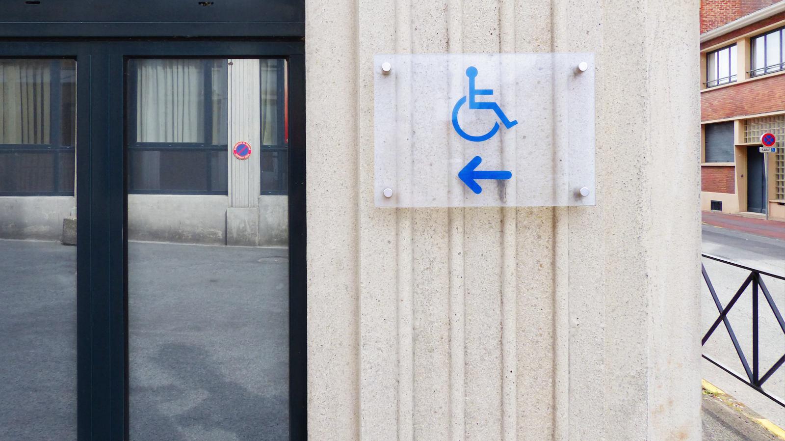 ECOSUP Campus Tourcoing - Accessibilité personnes à mobilité réduite