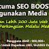 Percuma SEO BOOSTER Menggunakan Media Sosial