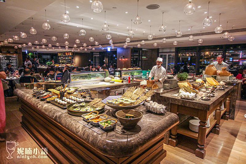 【台北信義區美食】君悅凱菲屋。異國料理 Buffet 吃到飽