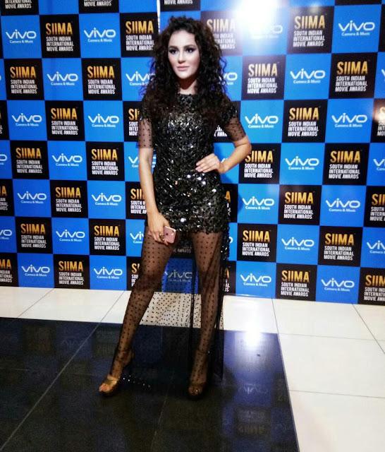 Actress Seerat Kapoor at SIIMA Awards 2017 Day 1