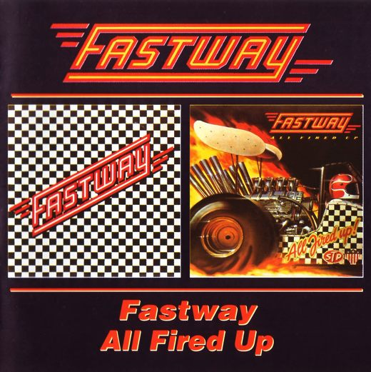 FASTWAY - All Fired Up [BGO reissue from master tapes] full