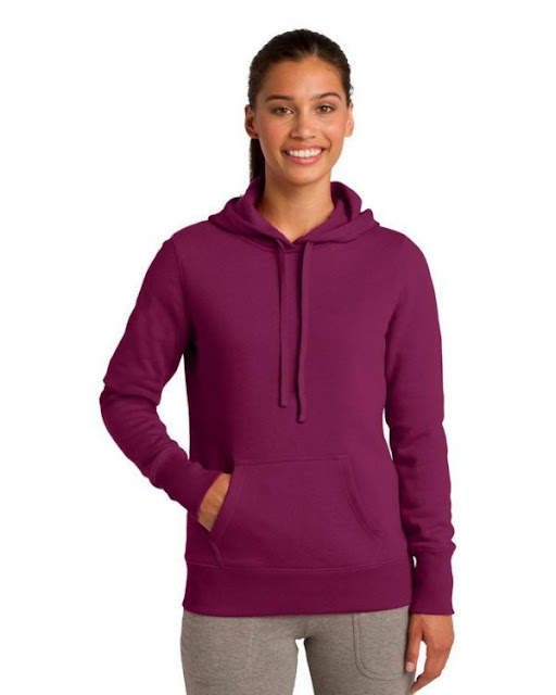 Sport-Tek LST254 Ladies Pullover Sweatshirt - True Navy - XL