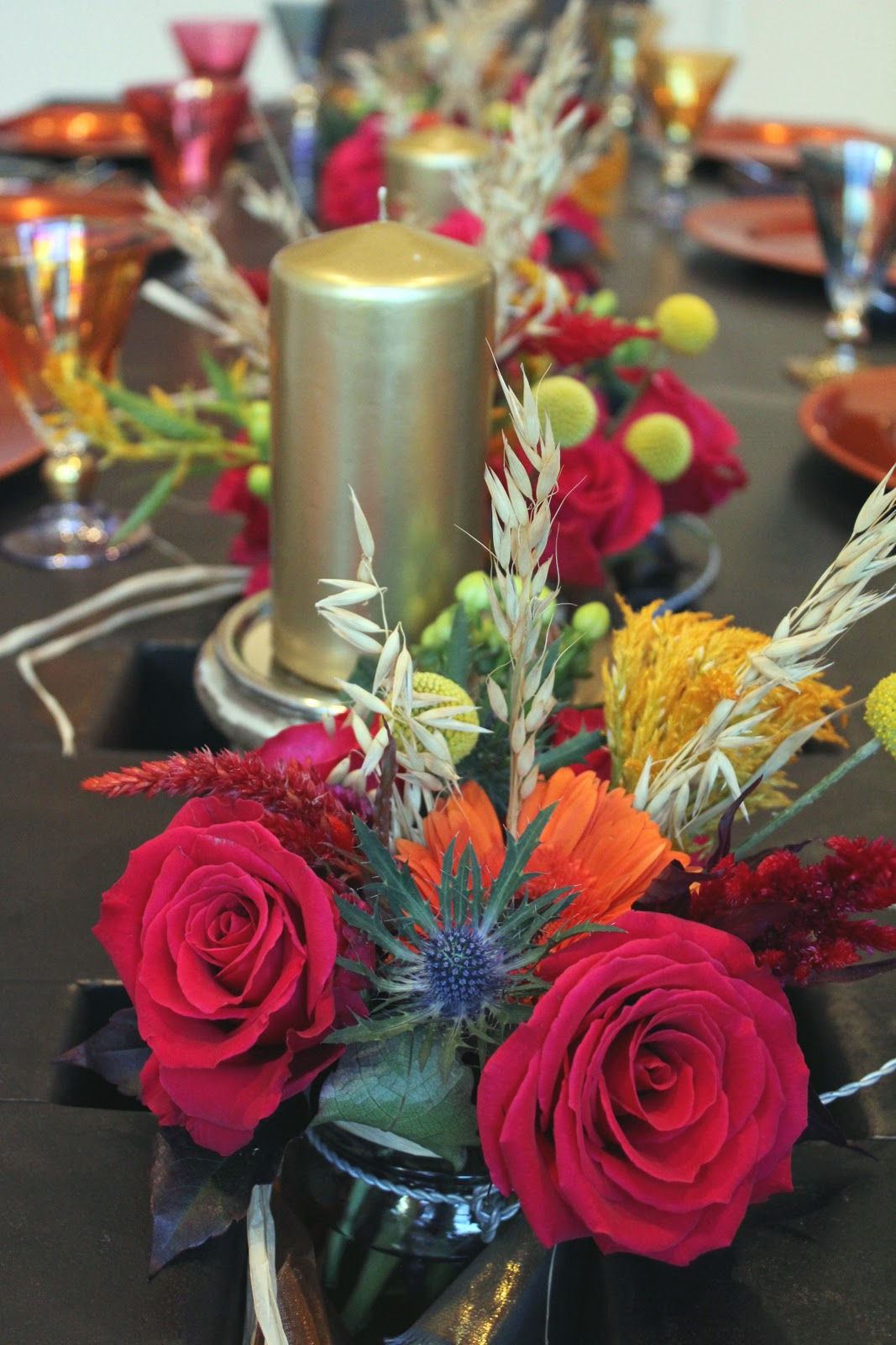 The Hourglass Diy Mason Jar Floral Arrangements