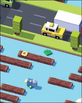 45 best Android games Crossy Road