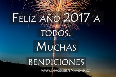 Imagenes y frases de feliz año nuevo 2017