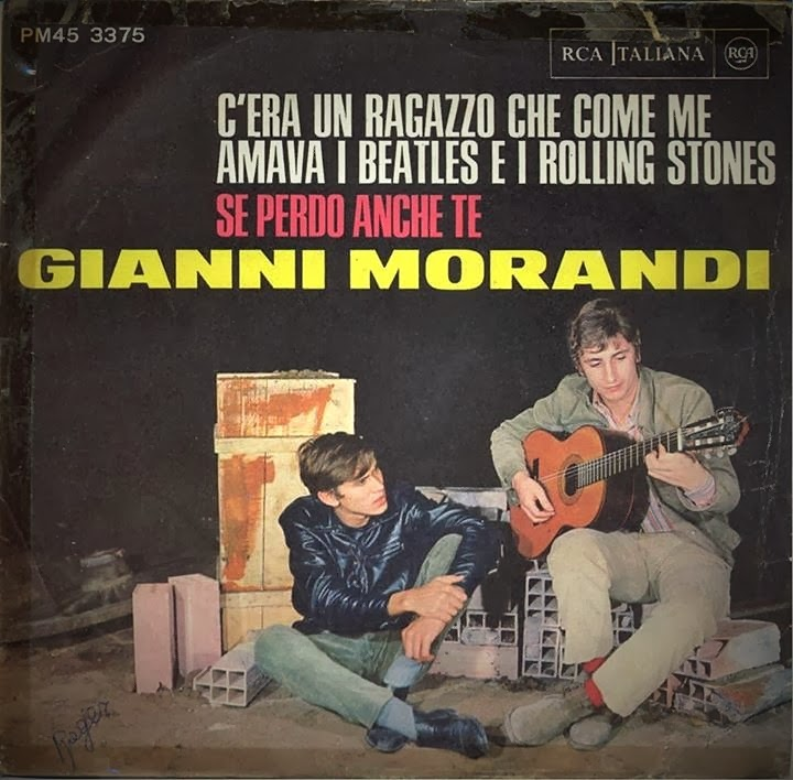 Gianni Morandi 45 giri cover