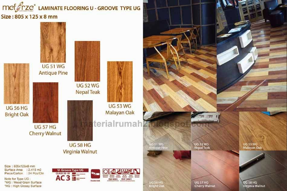 MEFORZE Laminated and Vinyl Flooring