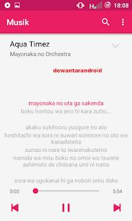 lirik lagu android