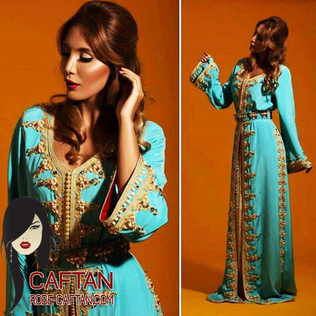 Caftans Royal orné Collection 2016-2017