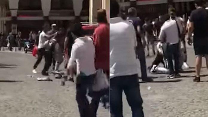 Βίντεο: Περαστικός ξυλοφορτώνει Πακιστανό που πήγε να κλέψει στη Θεσσαλονίκη