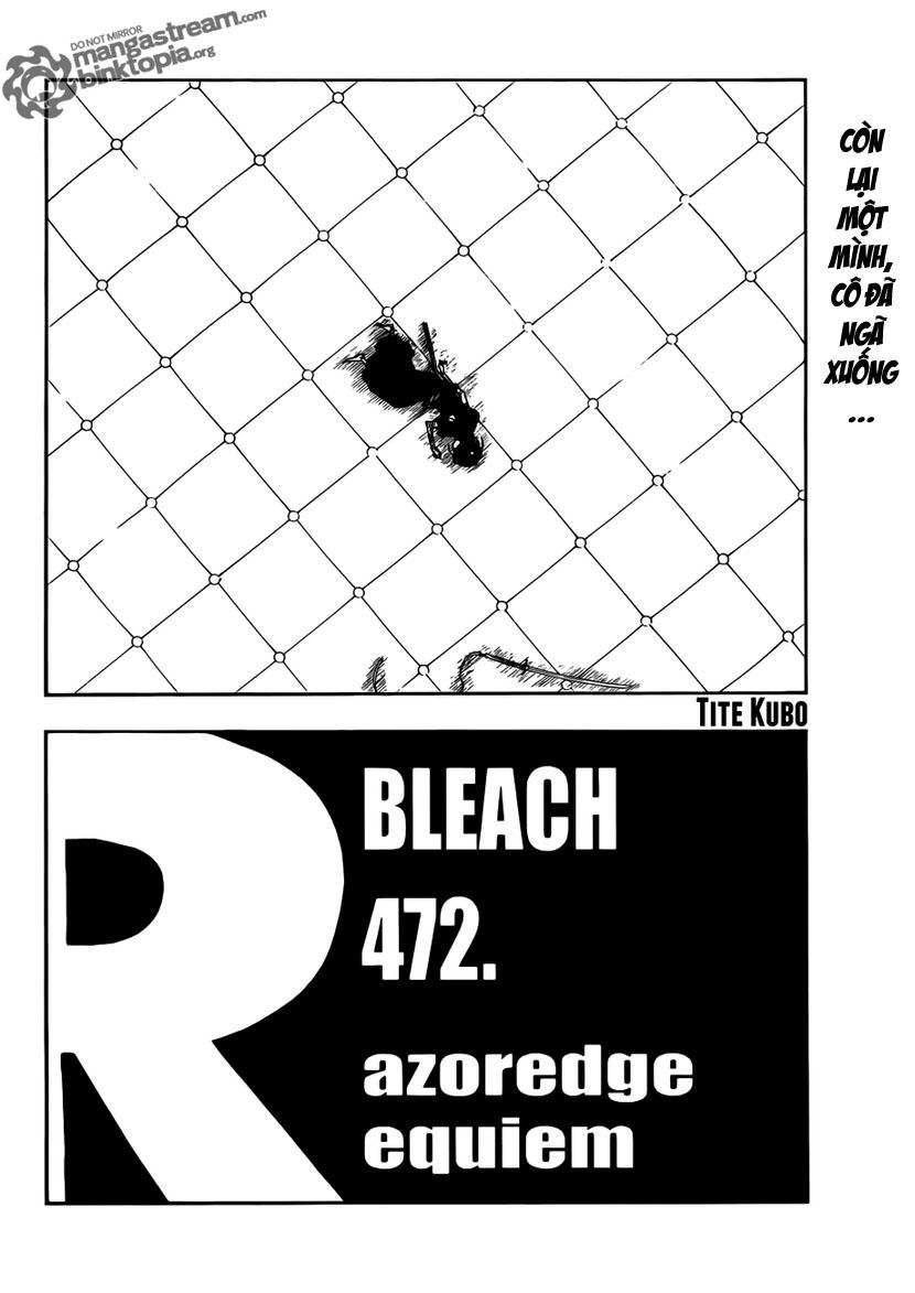 Bleach chapter 472 trang 2